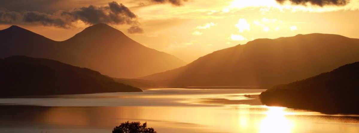 Loch Tay near Pitlochry