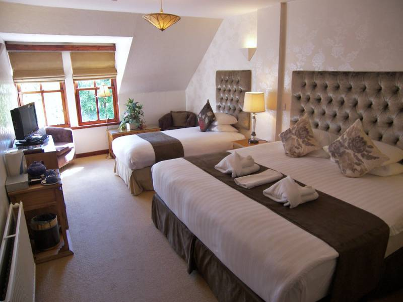 Family accommodation Pitlochry